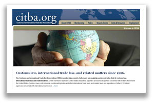 Customs and International Trade Bar Association - Legal Web Design Washington DC and New York NY